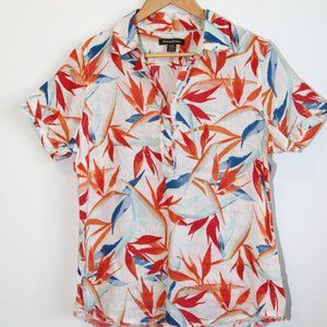 3FOR25$ NWOT Tommy Bahama tropical shirt medium